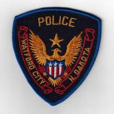 United States Watford City North Dakota Police Cloth Patch