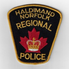 Canadian Haldimand Norfolk Regional Police Cloth Patch