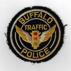 United States Buffalo Traffic Police Cloth Patch