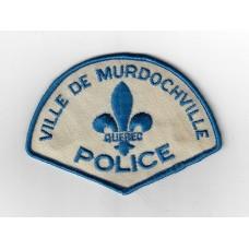 Canadian Ville De Murdochville Quebec Police Cloth Patch