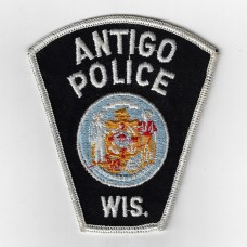 United States Antigo Police Wisconsin Cloth Patch