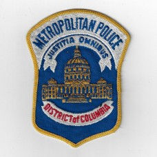 United States District of Columbia Metropolitan Police Cloth Patc