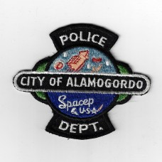 United States City of Alamogordo Police Department Cloth Patch