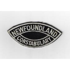 Canadian Newfoundland Constabulary Cloth Patch