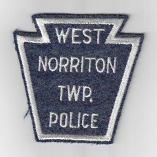 United States West Norriton Township Police Cloth Patch