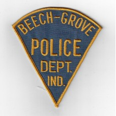 United States Beech-Grove Police Department Indiana Cloth Patch