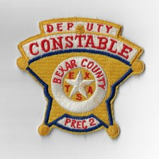 United States Precinct 2 Bexar County Texas Police Deputy Constable Cloth Patch