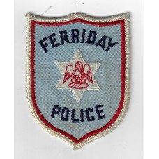 United States Ferriday Police Cloth Patch