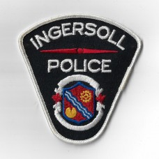 Canadian Ingersoll Police Cloth Patch