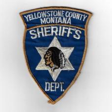 United States Yellowstone County Montana Sheriff's Department