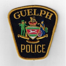 Candian Guelph Police Cloth Patch