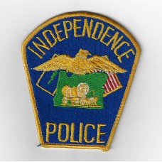 United States Independence Police Missouri Cloth Patch
