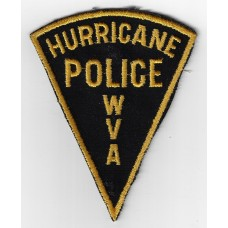United States Hurricane WV Police Cloth Patch