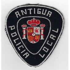 Antigua Policia Local Cloth Patch