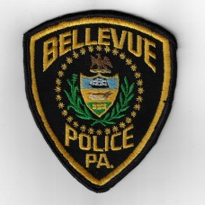 United States Bellevue Police Pittsburgh PA. Cloth Patch