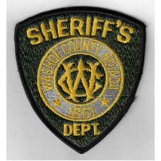 United States Washoe County Nevada Sheriff's Department Cloth Patch