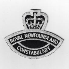 Canadian Royal Newfoundland Constabulary Cloth Patch