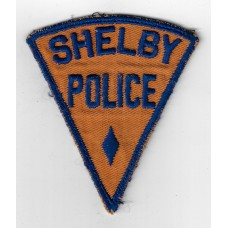 United States Shelby Police Cloth Patch
