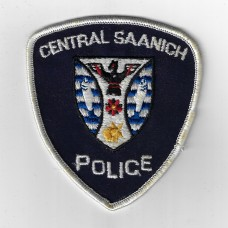 Canadian Central Saanich Police Cloth Patch
