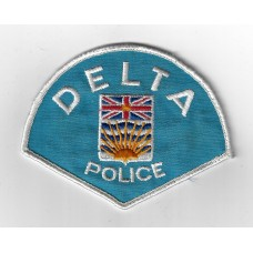 United States Delta Police Cloth Patch