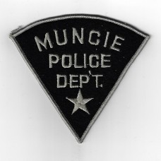 United States Muncie Police Department Indiana Cloth Patch