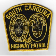 United States South Carolina Highway Patrol Cloth Patch