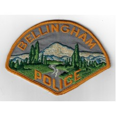 United States Bellingham Police Cloth Patch