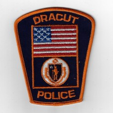 United States Dracut Police Cloth Patch