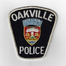 Canadian Oakville Police Cloth Patch