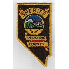 United States Pershing County Sheriff Cloth Patch