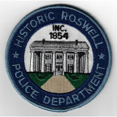 United States Historic Roswell Police Department Cloth Patch
