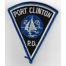 United States Port Clinton Police Department Cloth Patch
