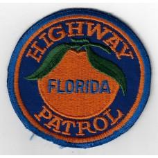 United States Florida Highway Patrol Cloth Patch