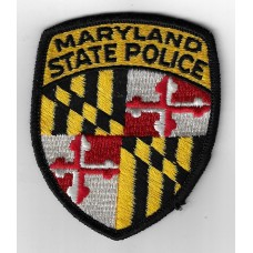 United States Maryland State Police Cloth Patch