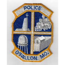 United States O'Fallon MO. Police Cloth Patch