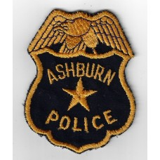 United States Ashburn Police Cloth Patch