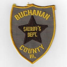United States Buchanan County Sherriff's Department Cloth Patch