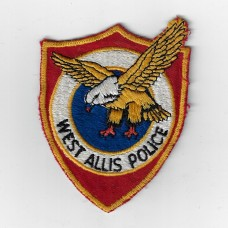 United States West Allis Wisconsin Police Cloth Patch