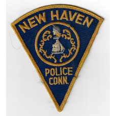 United States New Haven Police Cloth Patch