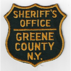 United States Greene County New York Sheriffs Office Cloth Patch