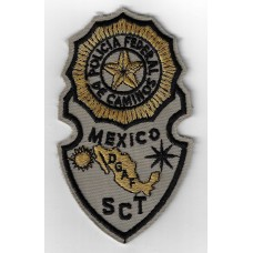 Mexico Policia Federal De Caminos PGAF SCT Cloth Patch