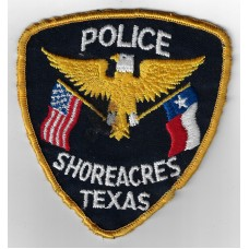 United States Shoreacres Texas Police Cloth Patch