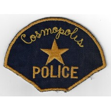 United States Cosmopolis Police Cloth Patch