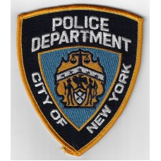 United States City of New York Police Department Cloth Patch