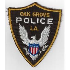 United States Oak Grove Police LA Cloth Patch