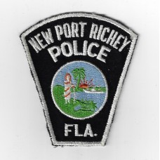 United States New Port Richey Police Florida Cloth Patch