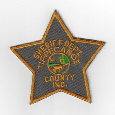 United States Tippecanoe County Indiana Sherriff Department Cloth Patch