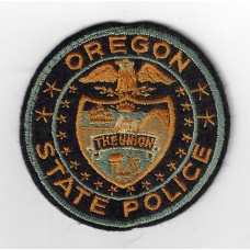 United States Oregon State Police Cloth Patch