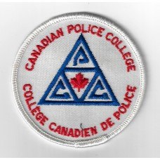 Canadian Police College Cloth Patch