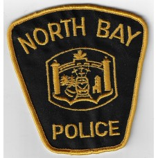 Canadian North Bay Police Cloth Patch